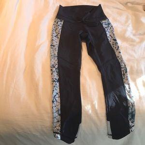 Lululemon blue crop pants - 2